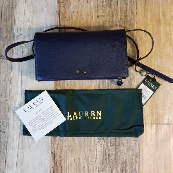 e30efc7ac17 Ralph Lauren Bags   Nwt Leather Crossbody   Poshmark